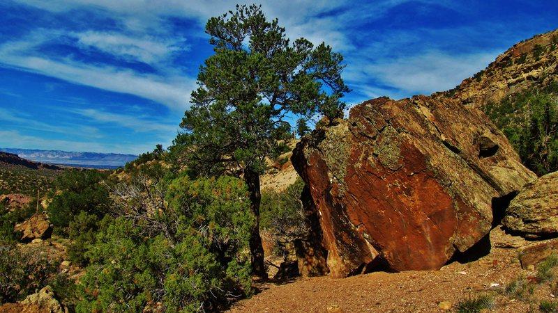 Western Rust Boulder.