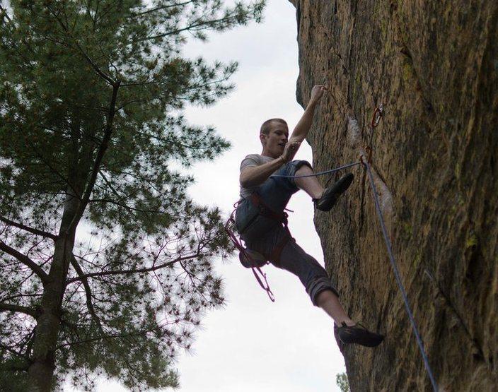 Rock Climbing Photo: Whiskey-a-Go-Go