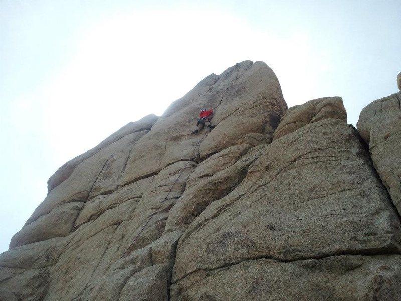 Rock Climbing Photo: sail away, joshua tree