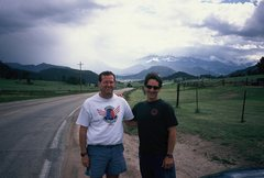 Rock Climbing Photo: Outside Estes Park