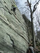 Rock Climbing Photo: Pat on Vermin