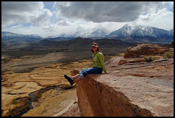 Aerili enjoying the Volcanic Tablelands.<br> Photo by Blitzo.