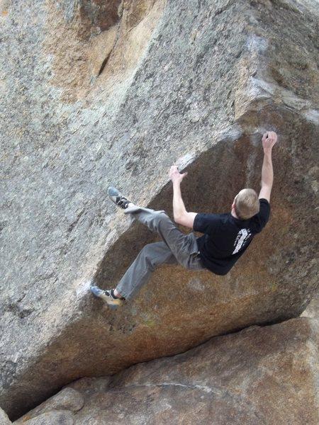 Rock Climbing Photo: MS13 Training Arete