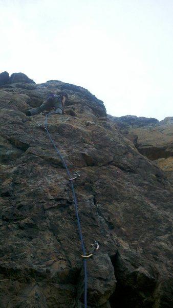 Rock Climbing Photo: Impaction