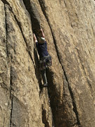 Rock Climbing Photo: Brett sends Take Five.