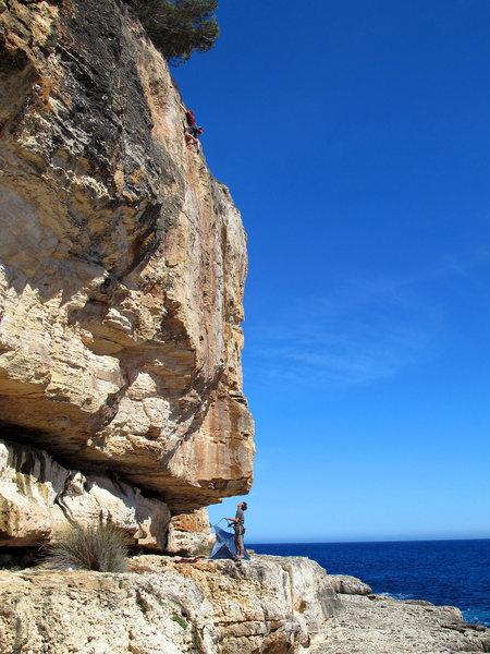 Nearing the end of Escuelar de calor, a great route!