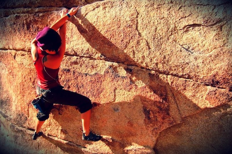 Rock Climbing Photo: Gunsmoke
