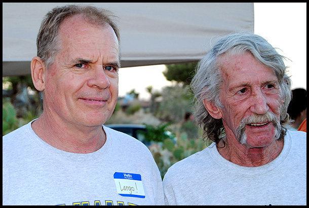 John Long and Jim Bridwell.<br> Photo by Blitzo.