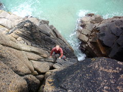 Rock Climbing Photo: the unknown commando