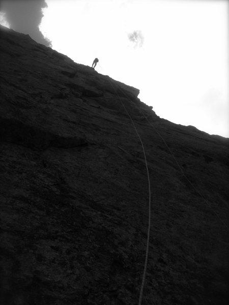 Rock Climbing Photo: One of five 200-foot raps