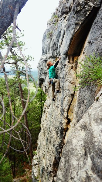 Rock Climbing Photo: Aaron Stetzer on Jesco