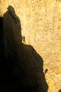 Rock Climbing Photo: Jason Stevens and Matt Selman on the second pitch ...