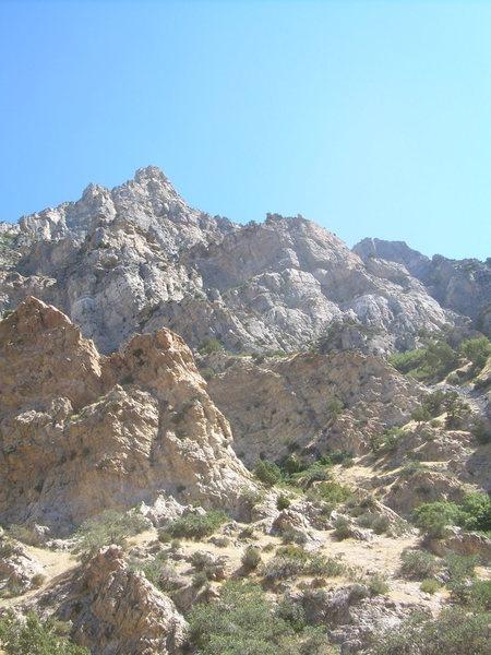 Rock Climbing Photo: Squaw Peak