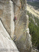 Rock Climbing Photo: Cody Scarpella sends.... This was his first trip t...