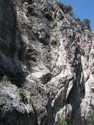 Rock Climbing Photo: Sea Cliff, 5.10d.