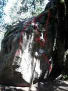 Rock Climbing Photo: Please help me identify these problems.  A - Arete...