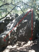Rock Climbing Photo: Please help me identify these problems.  A - Unkno...
