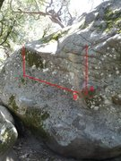 Rock Climbing Photo: Please help me identify these problems.  A - Garag...