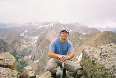 Rock Climbing Photo: Summit of Pigeon Peak