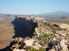 Rock Climbing Photo: Comb Ridge
