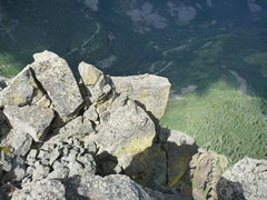 Rock Climbing Photo: The highway from Ophir needle summit