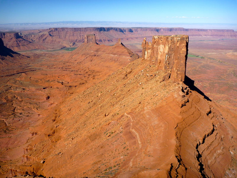 Rock Climbing Photo:  Towers of Castle Valley