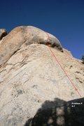 Rock Climbing Photo: Unknown F Topo