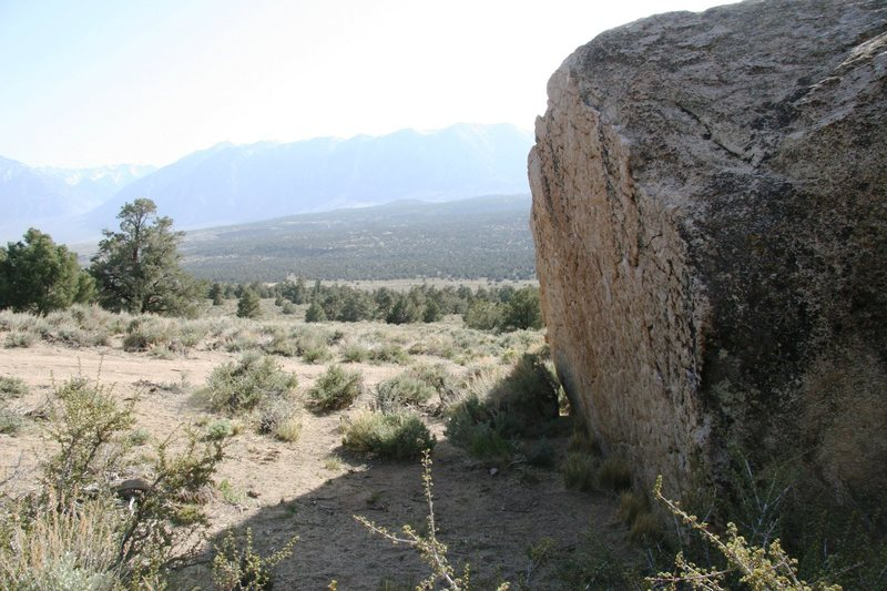 Rock Climbing Photo: Boulders with a view