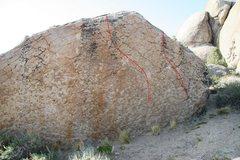 Rock Climbing Photo: Boulder Problems