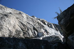 Rock Climbing Photo: Left Ski Track, 5.6