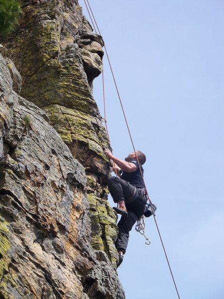 Rock Climbing Photo: Air at petenwell