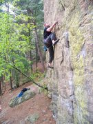 Rock Climbing Photo: Tower route at petenwell