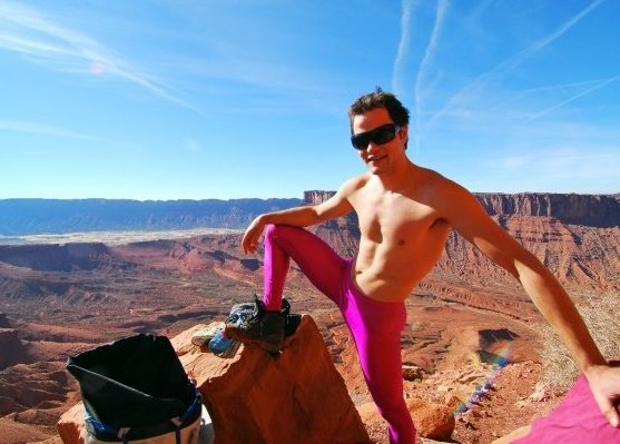 Rock Climbing Photo: spandex of the desert