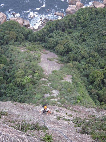 Rock Climbing Photo: Mingo on Lagartao.