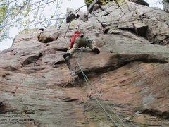 Rock Climbing Photo: Burt in full Misery