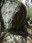 Rock Climbing Photo: Rad new line...