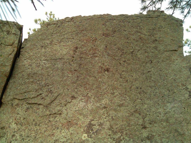 Rock Climbing Photo: Close up.