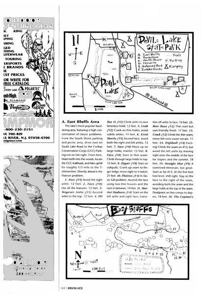 Rock Climbing Photo: Page 102.