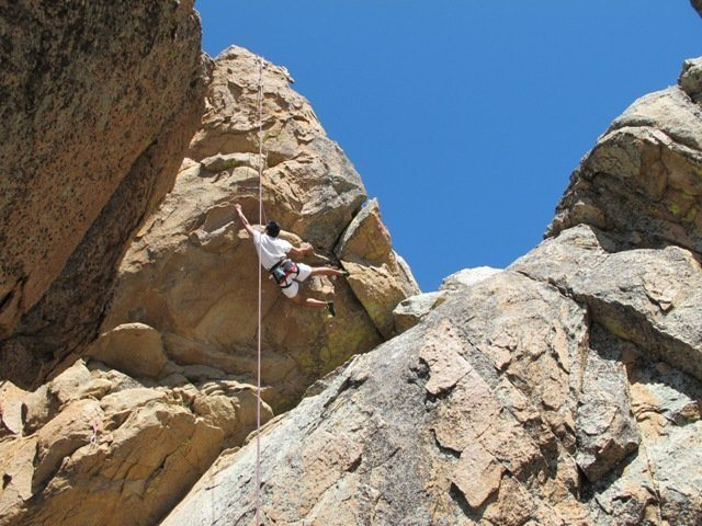 Rock Climbing Photo: My first TR 11a The Long Arm of the Law, Motherlod...