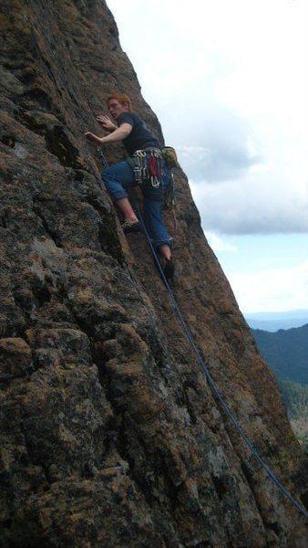 Rock Climbing Photo: Crash Landing Pilot Rock