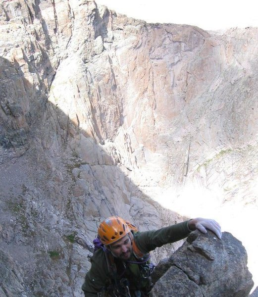 Rock Climbing Photo: Cranking hard through the crux!!