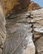 Rock Climbing Photo: Jonny on p3.