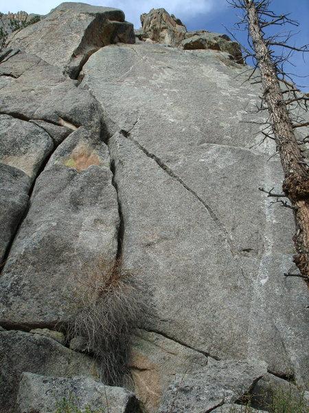 Rock Climbing Photo: Fun OW. No bolts on top.