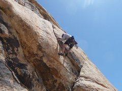 Rock Climbing Photo: Spaghetti and Chili on the lieback!