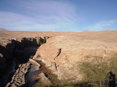 Rock Climbing Photo: the canyon and surrounding landscape as seen from ...