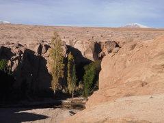 Rock Climbing Photo: closer view of the canyon