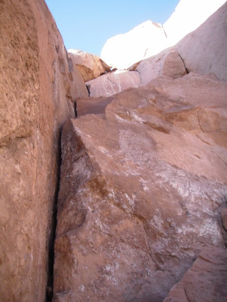 Rock Climbing Photo: close up on one of the equipped routes; this one s...