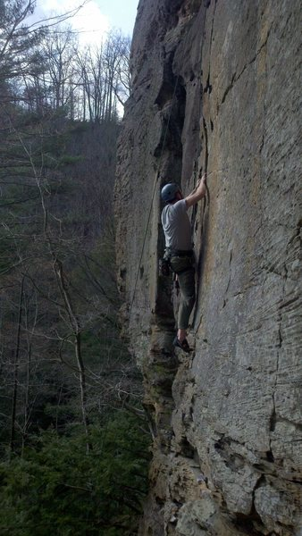 Rock Climbing Photo: Fun to climb!