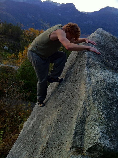 Cutting Edge Slab <br> Squamish B.C<br>