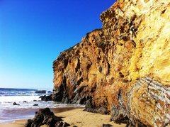 Rock Climbing Photo: Soloing Panther Beach  Santa Cruz, CA